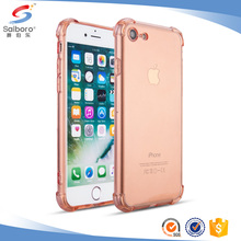 Best selling phone case tpu clear for iphone 7