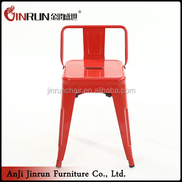 Simple home furniture red dining chair