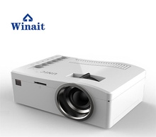 winait factory price mini pocket projector 150 lumens protable home projector UC18 the world smallest LCD projector