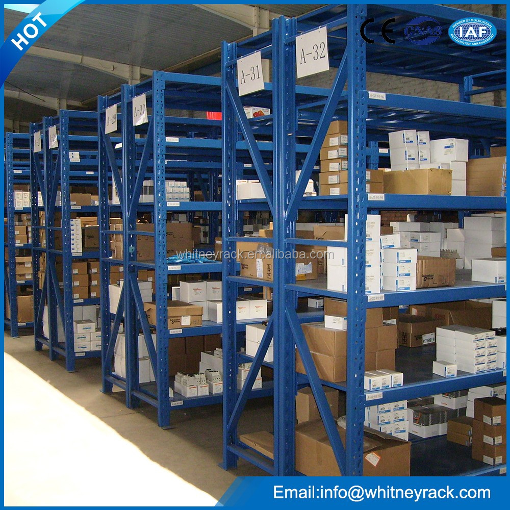 Industrial warehouse storage durable medium duty racking system in good price