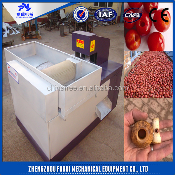 Good Performance olive/plum/apricot pitter /seed removing machine