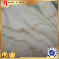 Top grade hot sell pure white onyx jade stone floor
