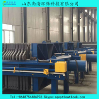 Plate and Frame Type Filter Press for Solid and Liquid Separator