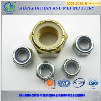DIN985 Self-locking Hex Nut Thin Type