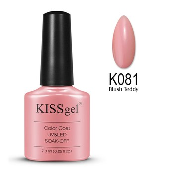 CCO Kissgel 7,3 ml Nail UV/LED Gel Global Wholesale Longwear The latest nail shop popular colors