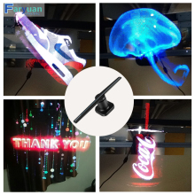 Spinning LED Fan Hologram Advertising Display Led Advertising Display fan 3D Hologram Advertising