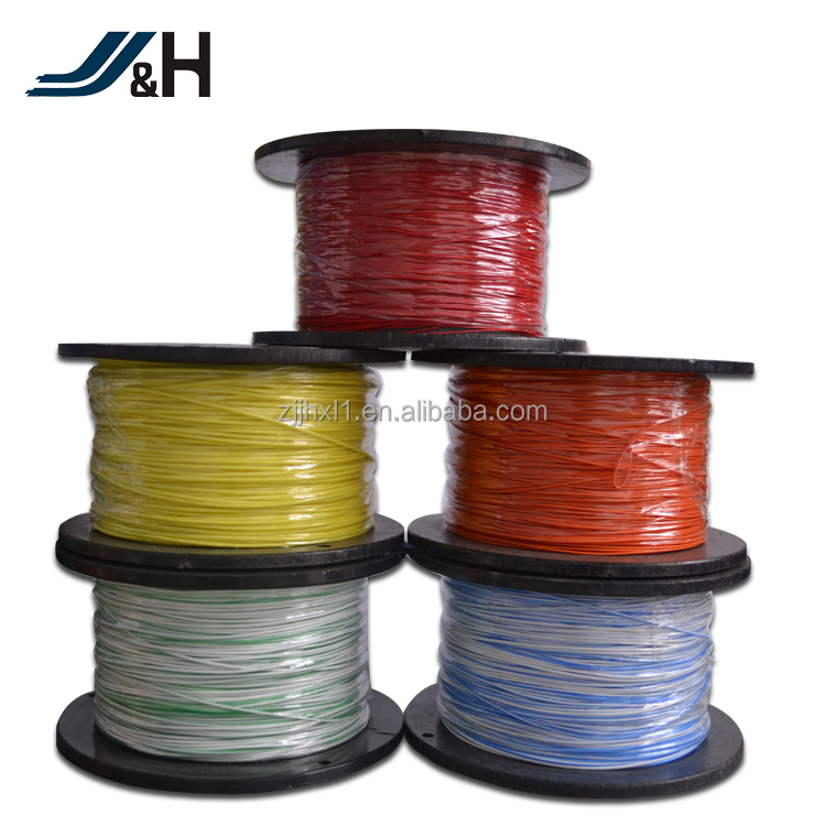 UL1584 Nickel Copper PTFE Insulated Thin Teflon Wire