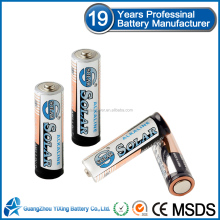 Size AA LR6 alkaline battery non rechargeable battery