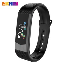 SKMEI brand new B30 vibrating TFT colorful screen blood pressure watch monitor sport heart rate bracelet for mobile phones