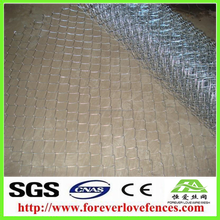 2015 Cheap Hot Sale PVC Coated Galvanized Hexagonal Wire Netting /Rabbit Fencing (ISO9001)