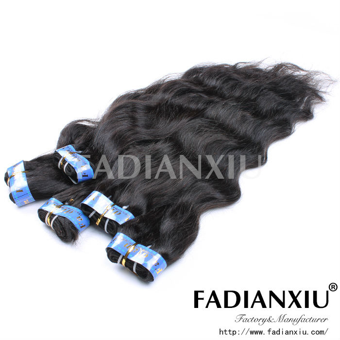Natural color expression hair sew in hair extensions weft all style and color