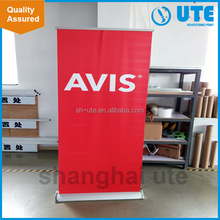 Easy Carry Custom Aluminum Roll Up Stand Banner /pull up banner