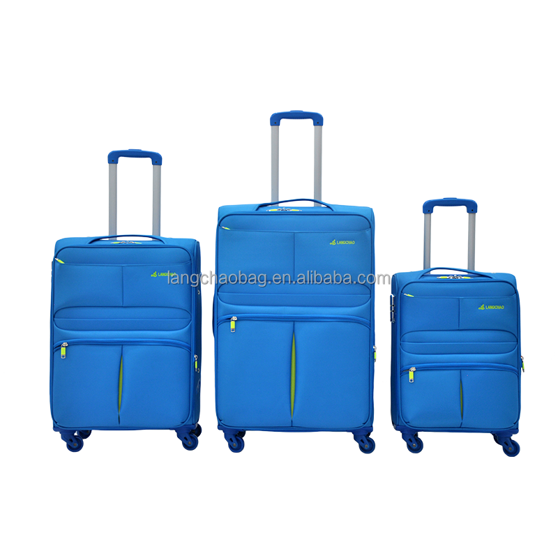 2016 High -grade EVA trolley luggage, trolley travel bags soft side