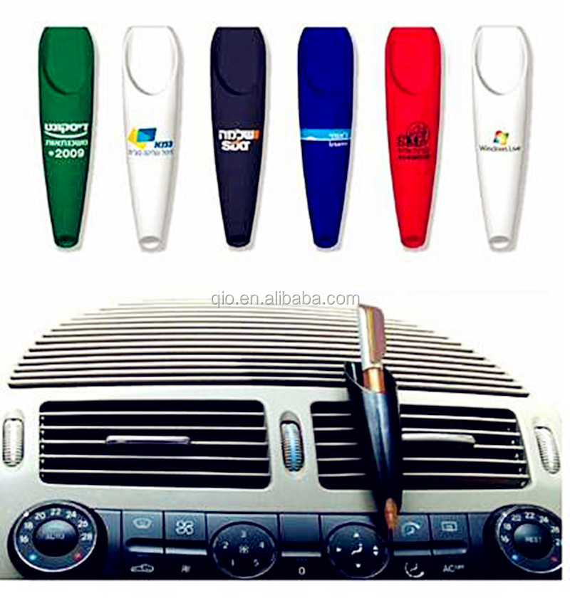 new unique promotion multi color single pen holder and container for car use with customized logo