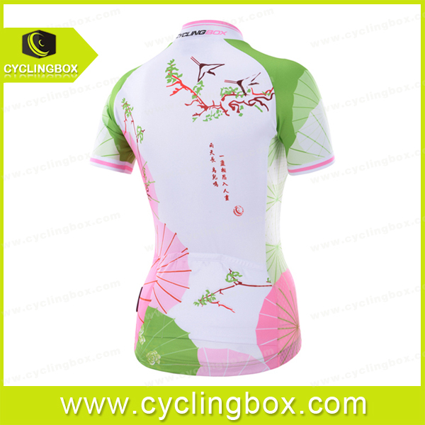 Wholsale 2015 lady cycling wear submitation print