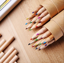 Manufacturer Supply Stronger Durable glitter color drawing pencil
