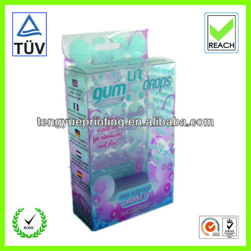 clear plastic candy containers/clear plastic gift boxes wholesale/plastic case