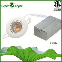 "Residential ceiling 3"" 8w low profile led downlight for restaurant"