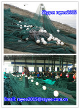 European Bulltrout 100% nylon recycle fish drying fishing net monofilament, pe fishing cast nets weaving on sale