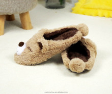 New Style In 2018 Teddy Bear-shaped Plush Soft Slippers Manufacturer
