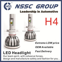 H4 led head light 38w 5000lm car led headlight 2 years warranty led car headlight for car