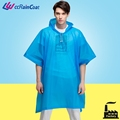 Clear custom printed plastic rain ponchos cheap