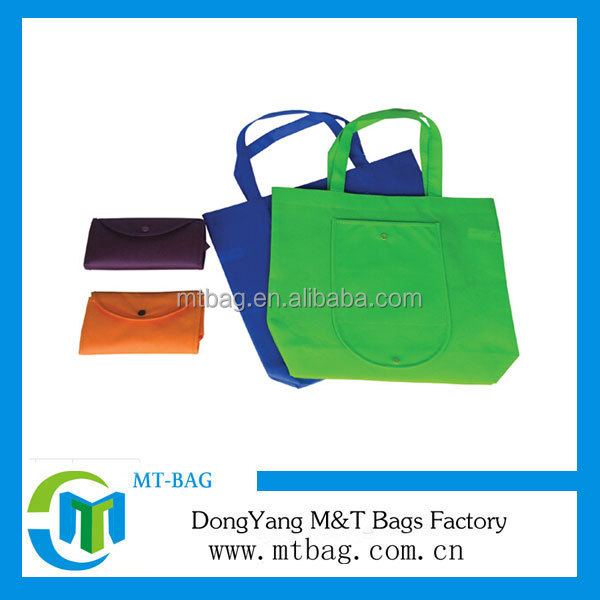 Wholesale promotional Non-woven foldable shopping bag