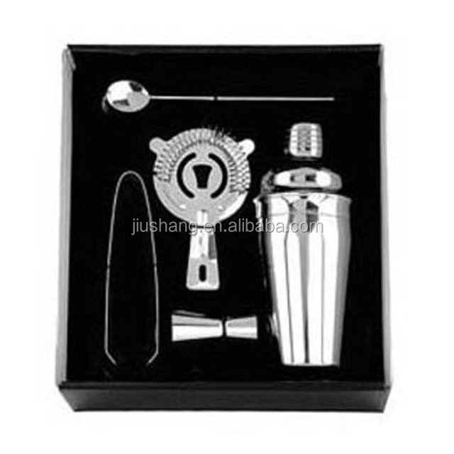 Bartender Tool set of recyclable wine bar sets Stainless Steel cocktail shaker bottle