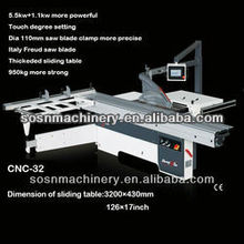 CNC-32 digital control sliding table saw 2015 new model