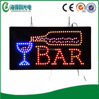 DC12V Custom led sign Flashing Bar Led Panel