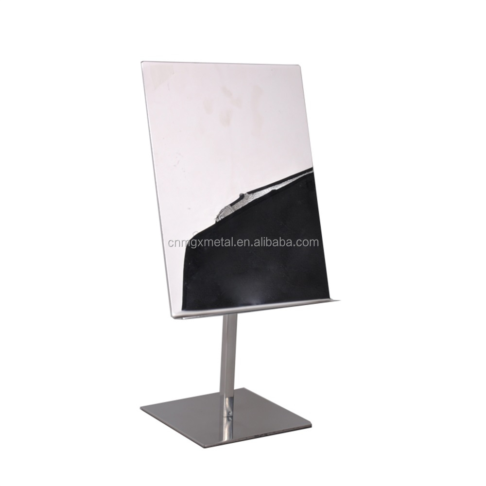 Customized High Quality Stainless Steel Golden Shirt Display Stand
