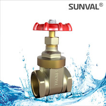 S5110 Brass Non-rising stem Gate valve
