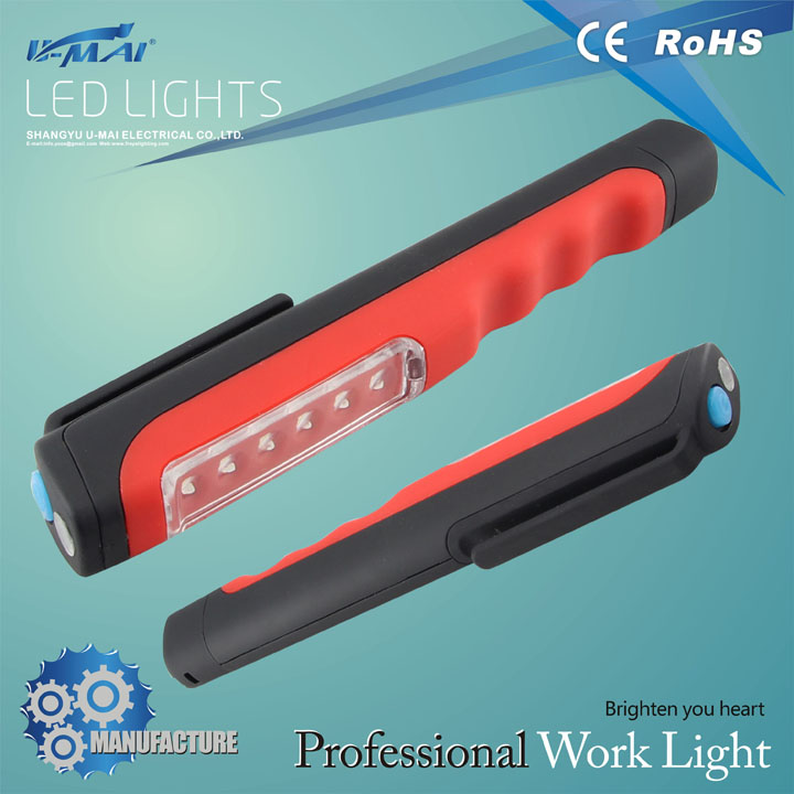 offroad led light <strong>battery</strong> operated led pen light led work light with magnet