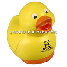 Baby duck shape promotional stress ball