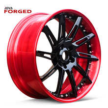Red 24 Inch Aluminum Color Excel 15 Inch IPW Wheels China Alloy All Types Of Car Rims