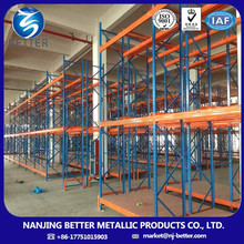 cold storage warehouse tube steel pallet rack