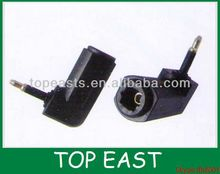 Adaptor Toslink Jack to Mini Toslink Angled Plug turnable adaptor angled