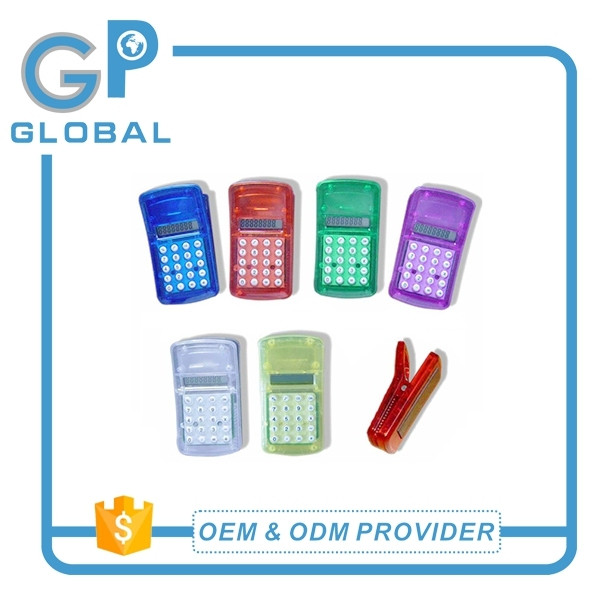 Alibaba china best selling mini clip calculator with magnet