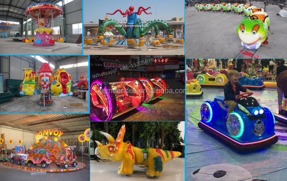 Outdoor Kids Entertainment Equipment Park Rides Electric Crazy Dance