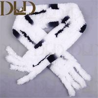Wholesale Rex Rabbit Fur Ringlets Winter Scarf