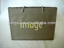 rope handle with eyelet fashion pp non woven shopping bag