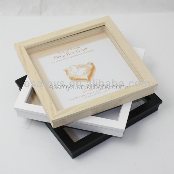 2016 custom new hot wooden picture photo frame W09A012-M18