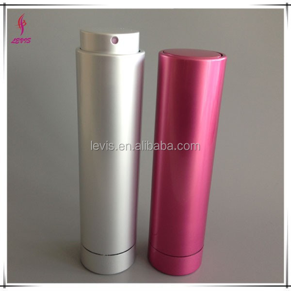 10ml twist up aluminum spray bottle