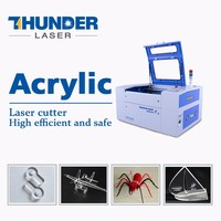 Stable work water cooing cnc mini textile fabric laser cutting machine for sale