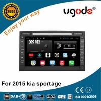 ugode new 2016 gps navigation double din car stereo for KIA SPORTAGE 2015-2016
