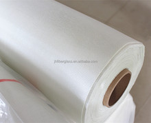 25g-400g weight E-Glass Fiber cloth in Twill weave for boat