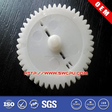 POM injection molded big plastic gear