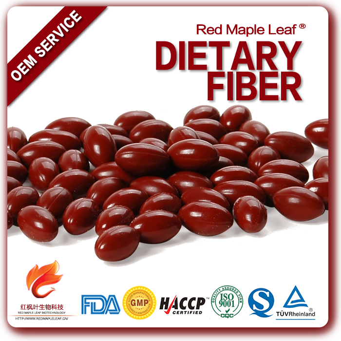 Natural Health Food Supplements Private Label Dietary Fiber Capsules