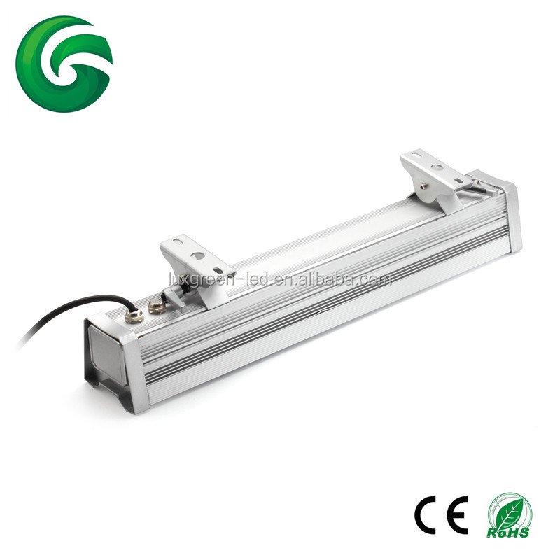 Fábrica de China patente 10*10 W rgbwa 5in1 DMX LED bar luz de la arandela de la pared con 3 años de garantía