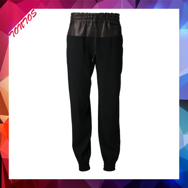 drop crotch 100% polyester custom jogger sweatpants